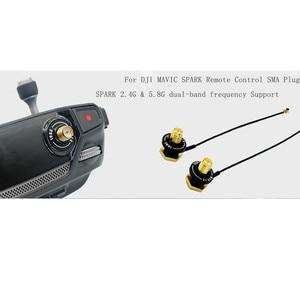 Image 4 - Zmodyfikowana antena zdalnego sterowania 16 DBi antena sygnałowa dla DJI mavic pro iskra powietrza mavic 2 pro zoom akcesoria do dronów