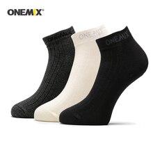 ONEMIX мужские спортивные носки 1 пара Хлопковые женские носки для бега повседневные прогулочные носки для бега