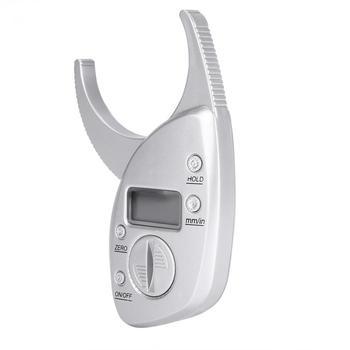 5 sztuk opakowanie elektroniczny do ciała Tester tkanki tłuszczowej monitory analizator cyfrowy Skinfold Tester pomiarowy zacisk mięśni utrzymać odchudzanie tanie i dobre opinie TMISHION Approx 11 * 6 5cm 4 3 * 2 6inch Body Fat Testers 0 - 50mm 0 - 2 0inch 0 1mm 0 01inch 3V Battery(Not Included)