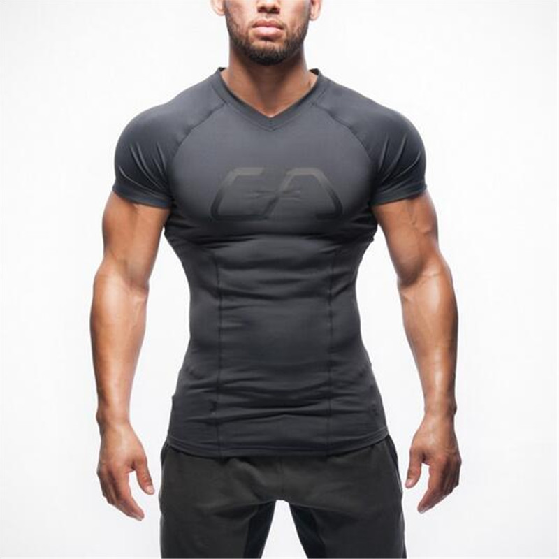 2018 New Arrival GYMs Stringer T Shirt Men Gyms Bodybuilding And Fitness Men Singlets Tank Shirts Fitness Clothes
