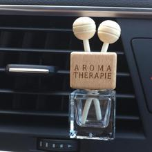No perfume Automobile air conditioner perfume clip Empty glass bottle auto air freshener fittings Lady car Ornaments