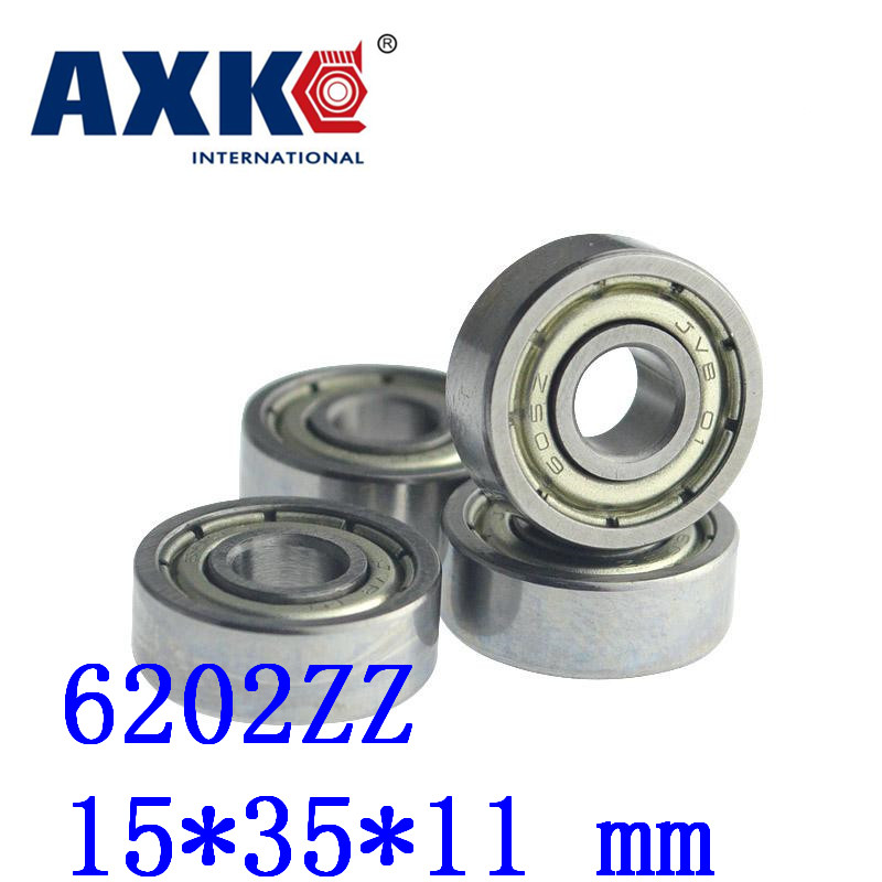 2019 Top Fashion New Arrival Steel <font><b>Rolamentos</b></font> 10pcs Free Shipping Miniature Deep Groove Ball Bearing 6202zz 15*35*11 Mm image