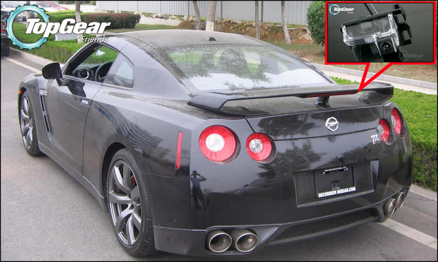 Car Camera For NISSAN GT R GTR R35 Godzilla 2003~2015 High Quality Rear