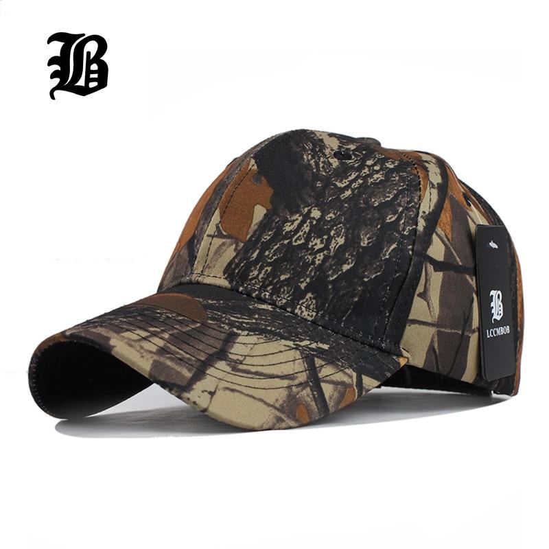 [FLB] Herre Army Unisex Camouflage Baseball Cap Casquette Hatter For Menn Vår Lue Cap Kvinner Summer 2018 New Hip Hop Hats F236