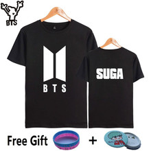 BTS Hip Hop Short Sleeve Woman Tshirt Top Korea Popular Kpop Bangtan Fans Tee Shirt Women Cotton Winter Hip Hop Female Tee Shirt
