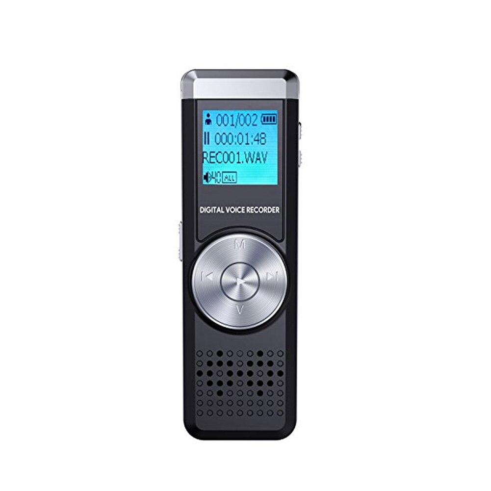 Digital Voice Recorder Zielstrebig 16g Stimme Aktiviert Tagungen Vorträge Eine Taste Lcd Screen Audio Noise Reduktion Digital Recorder Mp3 Spieler Wiederaufladbare Mini