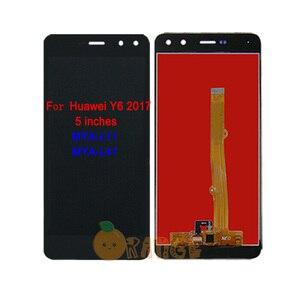 Image 3 - Neue LCD Display Sensor Für Huawei Y6 SCL L01/ Y6 2017 MYA L11/ Y6 2018 ATU L11 ATU L21/ Y6 2019 touchscreen Digitizer Montage