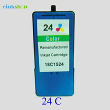 2PC For Lexmark Printer Ink Cartridge for Lexmark 24 for Lexmark Z1410 Z1420 X3530 X3550 X4530 X4550 printer ink все цены