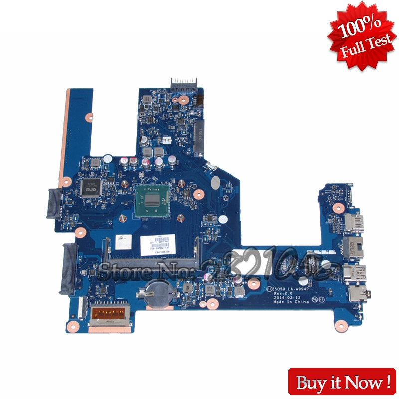 NOKOTION Laptop motherboard For ZSO50 LA-A994P For HP Compaq 15 15-R 15T-R 15-S 764103-501 764103-001 SR1W2 N3530 CPU DDR3 nokotion brand new cn 0y3pxh 0y3pxh for inspiron 15 3531 laptop motherboard zbw00 la b481p sr1w2 n3530 cpu onboard ddr3