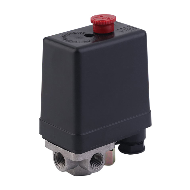 1Pcs 3-phase Heavy Duty Air Compressor Pressure Switch Control Valve 380/400V Compressor Pressure Switch Part 24a 16a 95 125psi manual dual pressure switch control valve for air compressor