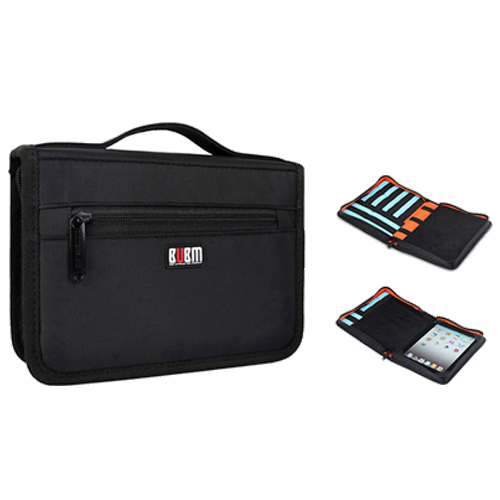 BUBM Carrying Tablet Case USB Flash Drive Cable Organizer Bag For iPad mini style bubm professional dj bag for pioneer