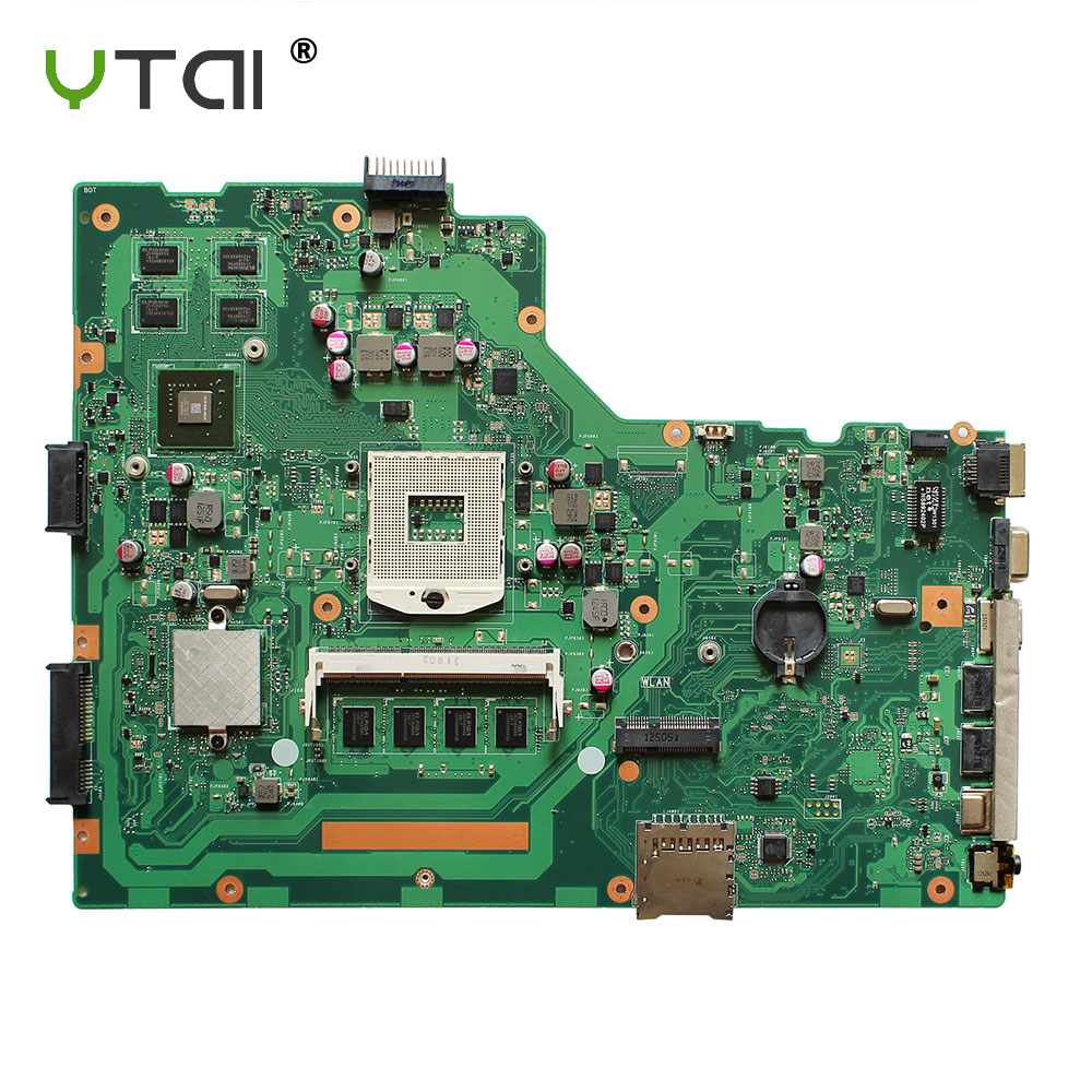 YTAI Original For ASUS X75V X75VC X75VB R704V X75VD REV 2.0 laptop notebook motherboard DDR3 PGA-989 HM76 GT610M 4G free shipping x75vd i3 2350 4gb ram gt610m mainboard for asus r704v x75vd x75vb x75vc x75v laptop motherboard 60 nc0mb1a00 b07
