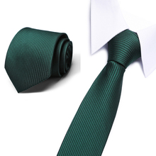 2018 Brand New 8cm Mens Paisley Tie For Men Fashion Stipe Neckties Mans Neck Ties Wedding Business Plaid Dot Corbatas