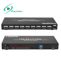 Ultra high Resolution HDMI Splitter 1X8 1 in 8 Out Support 4K 3D 1080p HDMI 1