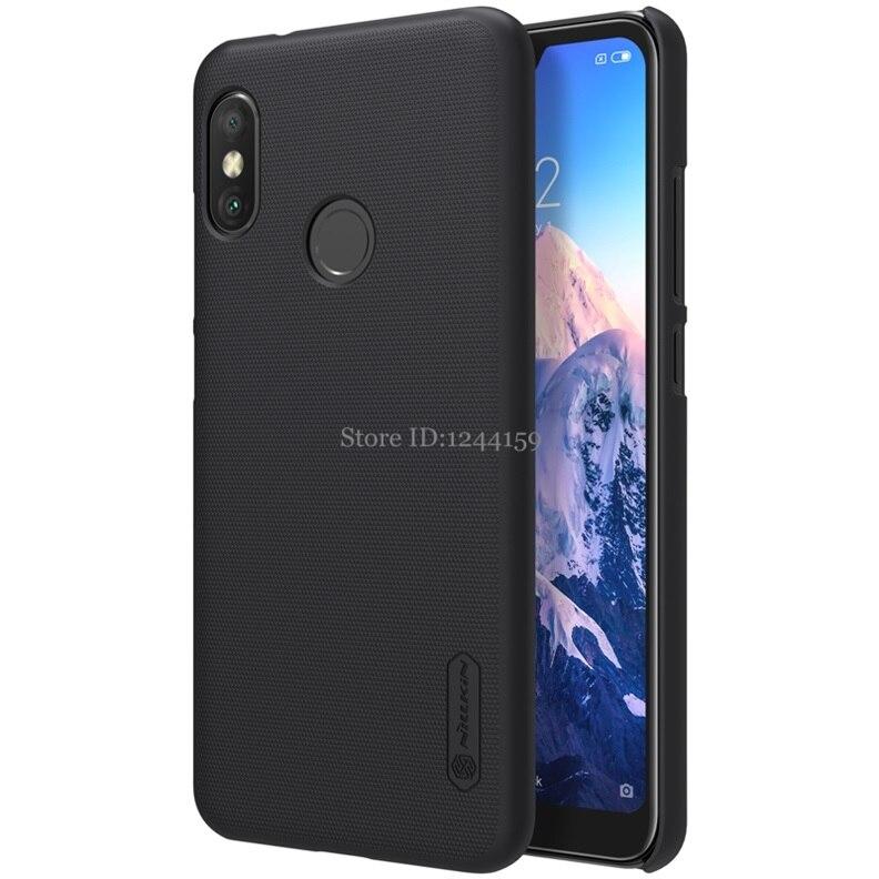 Xiaomi Mi A2 Lite caso Nillkin mate PC de teléfono de plástico bolsa de casos para Xiaomi MiA2 a2 Lite funda Nillkin A2 Lite Capa