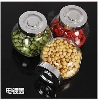 FREE SHOPPING!!!Kitchen seasoning jar airtight glass pot seasoning ...