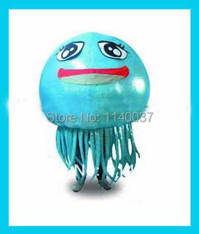 NO.1 MASCOT Jellyfish Mascot Costume Medusa Acaleph Sea Animal Fancy Dress Cartoon Character Cosply Carnival Costume Free Ship