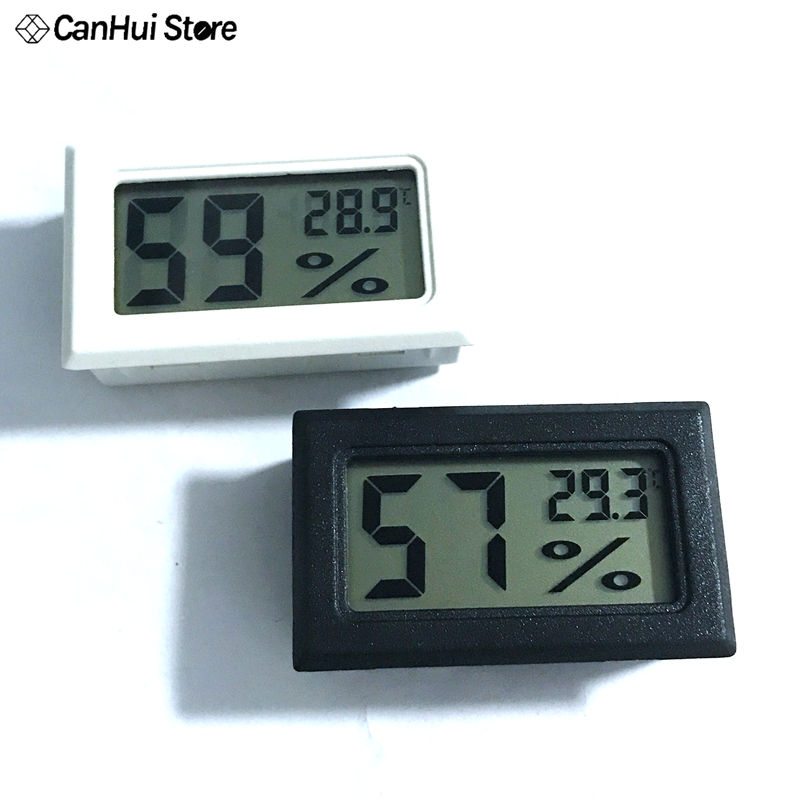 Mini LCD Digital Thermometer Hygrometer Temperature Indoor Convenient Humidity Meter Gauge Instruments
