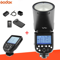 Godox V1 Flash V1C V1N V1S TTL 1/8000s HSS 2600mAh lithium battery Speedlite Flash + Xpro C/N/S Trigger for Canon Nikon Sony