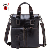Fashion Genuine Leather Men Bag Messenger Bags Casual Men S High Quality Travel Bag Man Leather
