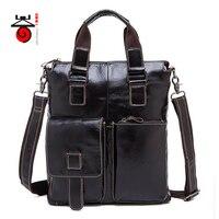 Fashion Genuine Leather Men Bag Messenger Bags Casual Men S High Quality Travel Bag Man Leather