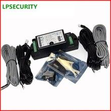 LPSECURITY Detector de Sensor de haz fotoeléctrico doble, sistema de Control de puerta automática, puerta corredera de vidrio oscilante