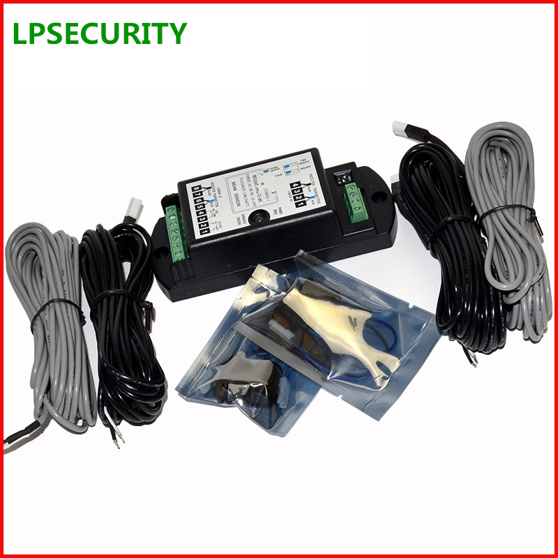 LPSECURITY Safety Double Photoelectric Beam Sensor Detector for Auto-Door Control System swing <font><b>sliding</b></font> glass door gate