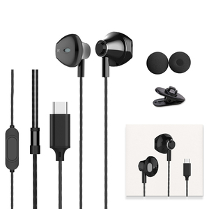 Image 5 - 2020 Langsdom Digital Type C Earphone with Mic Hifi Bass Headset for Samsung in ear Headphones for Auriculare Xiaomi USB C Phone