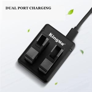 Image 5 - 2019 1/2/3 pièces pour Insta 360 batterie rechargeable + affichage Intelligent double fentes chargeur pour Insta360 One X Camer accessoires