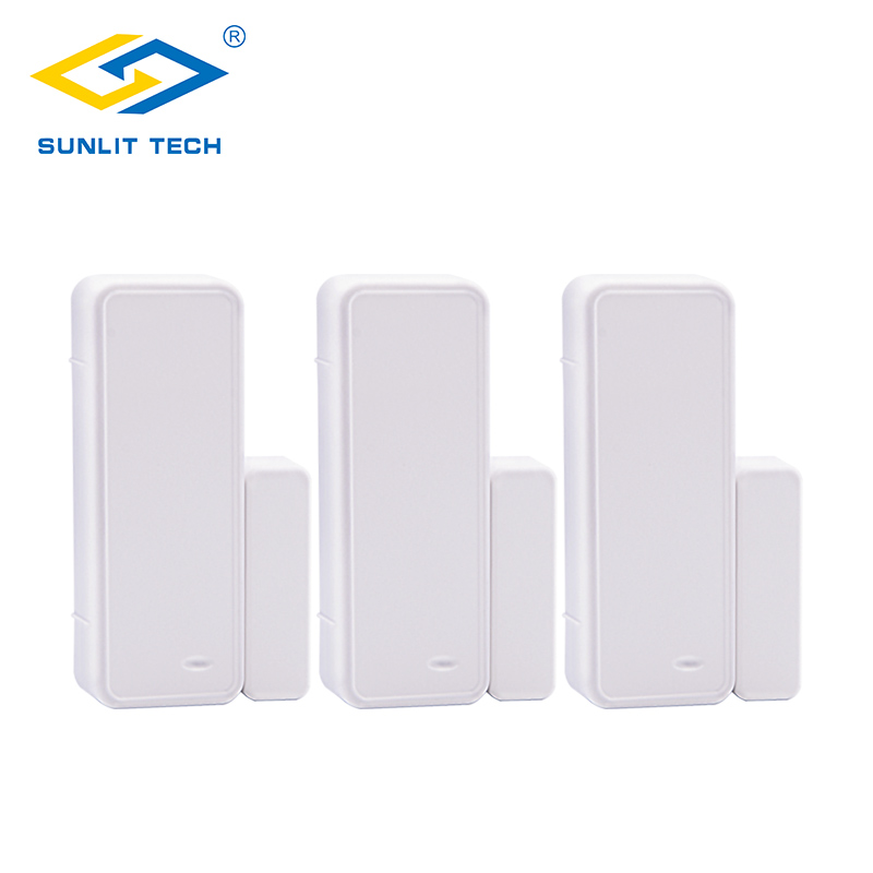 цены 3pcs 433MHz Wireless Door Window Sensor Wifi Contact Magnet Sensor For Home Burglar Security Alarm System Door Entry Detector