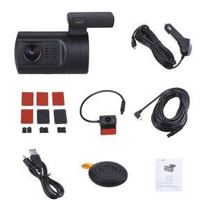 Image 5 - Blueskyseaミニ 0906 デュアルレンズ車のダッシュカムhd 1080p車dvrレコーダーソニーIMX322 カメラgps cplハードワイヤオプション