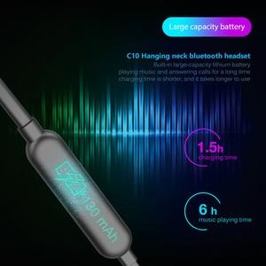 Image 4 - หูฟังไร้สายบลูทูธเพลงเบสสเตอริโอหูฟังบลูทูธหูฟังชุดหูฟังกีฬาหูฟังพร้อมไมโครโฟนสำหรับโทรศัพท์