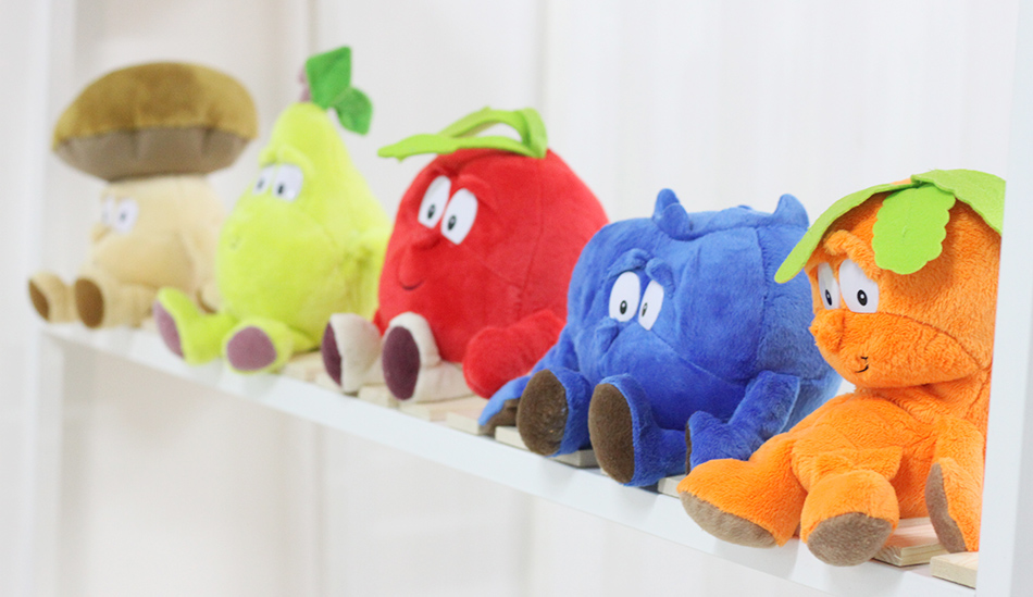 Kawaii-Cartoon-Plush-dolls-Toys-stuffed-dolls-25-35cm-childrens-gift-pineapple-Purple-yam-banana-pear-Carrot-Mushroom-Cherry-4