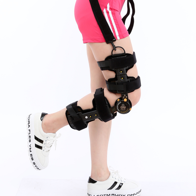Adjustable quality fixed Knee Braces Knee Meniscus Ligament Injury Fracture Splint leg Protector