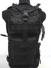 High Quality 3P Outdoor Camping Hiking Bag Military Tactical Rucksacks Backpack Black