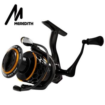 MEREDITH DAFNE KEEN Spinning Reel 5.2:1 2000 3000 4000 Triple Disc Carbon Drag 12KG Max Drag Power Bass Pike Carp Fishing Reels header civic eg