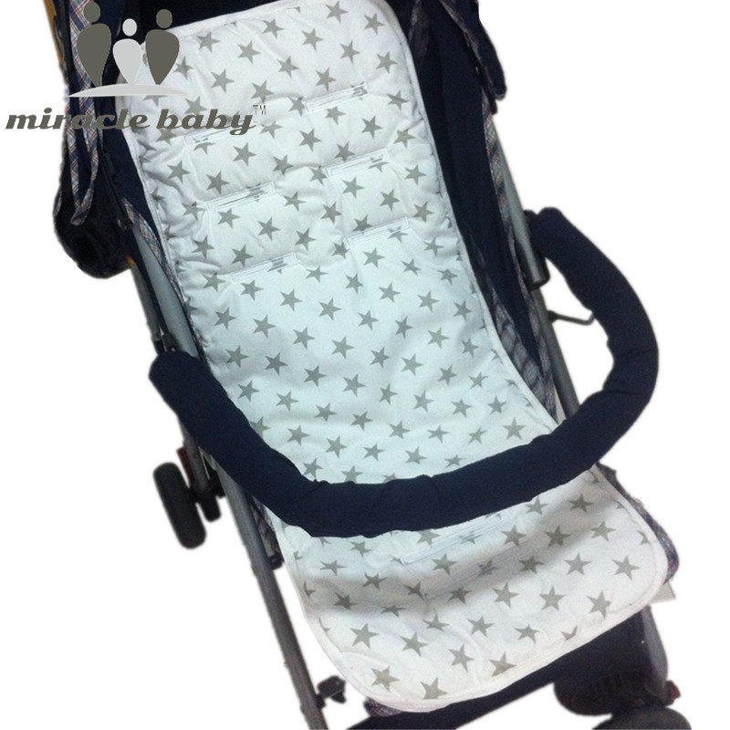 miracle baby baby stroller pad cotton accessory baby chair cushion