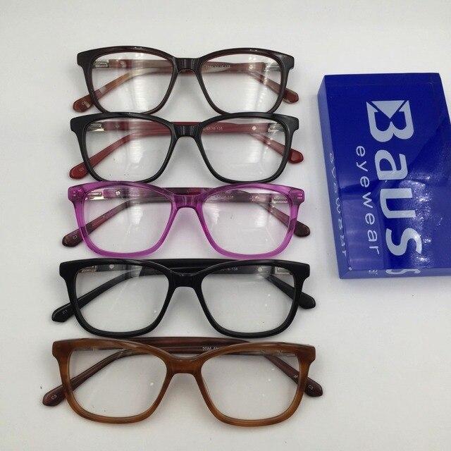 5a2cf48324b PK Italian eyewear Brand Design transparent purple with spring square optical  Myopia prescription Eyewear eyeglasses Frame
