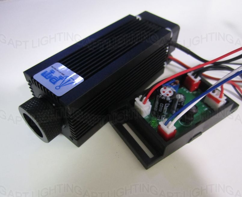 Newest High Power Industry Laser Focusable Laser Head  980nm 500mW Dot IR Infrared  Laser Diode Module 12V TTL With Driver