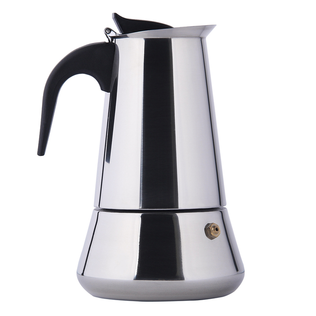 6cup Stainless Steel Italian Stove Top Moka Espresso Coffee Maker Percolator Pot Tool Suit