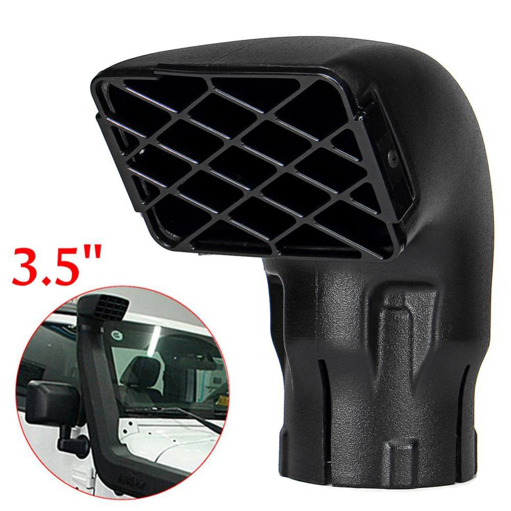 "3/"" Snorkel Head Air Intake Ram Off Road Farm Mudding can fix safari Snorkel"