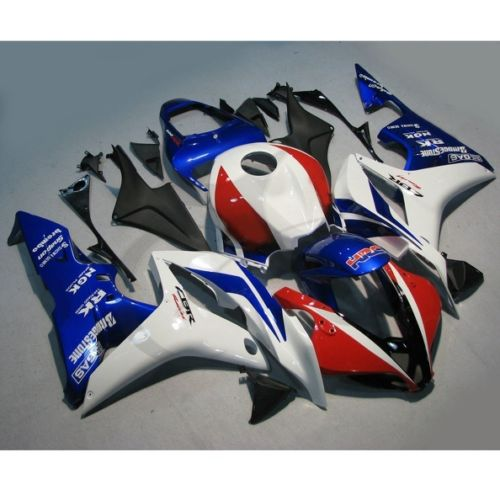 Motorbike Injection ABS Fairing Bodywork Kit Fit For Honda CBR600RR F5 2007 2008 for honda cbr600rr 2007 2008 2009 2010 2011 2012 motorbike seat cover cbr 600 rr motorcycle red fairing rear sear cowl cover