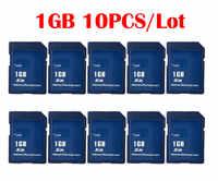 10 pièces/lot Carte SD 1 GB/2 GB Carte SD cartes mémoire en gros chine fournisseur pas cher de haute qualité pour la livraison gratuite
