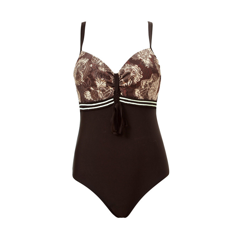 Bowknot bikini Strappy Double Push Up Bikini Large size Indoor swimwear Leaf Print Agent Provocateur Balconette bikini Seafolly бронепровода на ауди 100