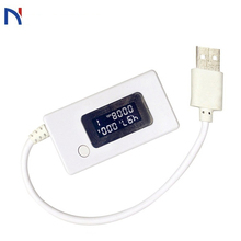 LCD Micro USB Charger Battery Capacity Voltage Current Tester Meter Detector for Smartphone Mobile Power Bank USB Tester Voltage power z usb pd tester quick charger voltage current ripple dual type c km001c meter power bank detector