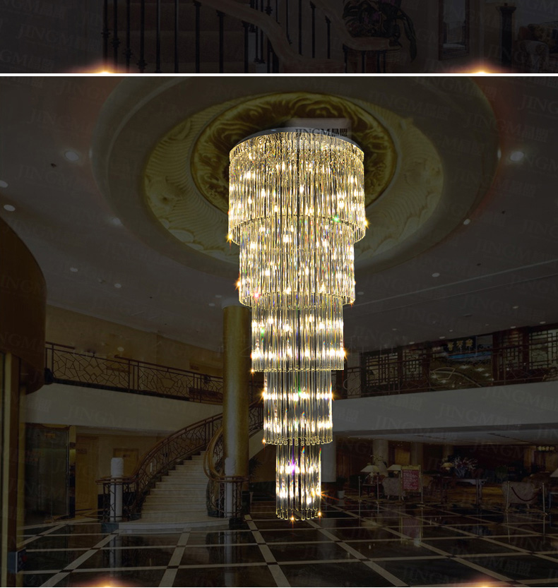 Crystal ջահ LED ժամանակակից ջահերի - Ներքին լուսավորություն - Լուսանկար 3