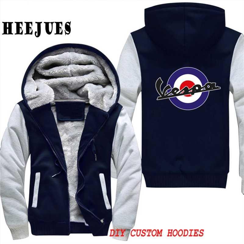 2018 Mod Vespa Target Mens Creed Hoody Jackets Men Cosplay Tracksuit Oversized Hoodies Winter Vespa Motorcycle Sudadera Hombre