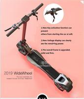 2019 Новый Mercane широкий скутер с рулевой отдачей складной умный электрический скутер 48 в 500 Вт два колеса один/двойной мотор Hover доска