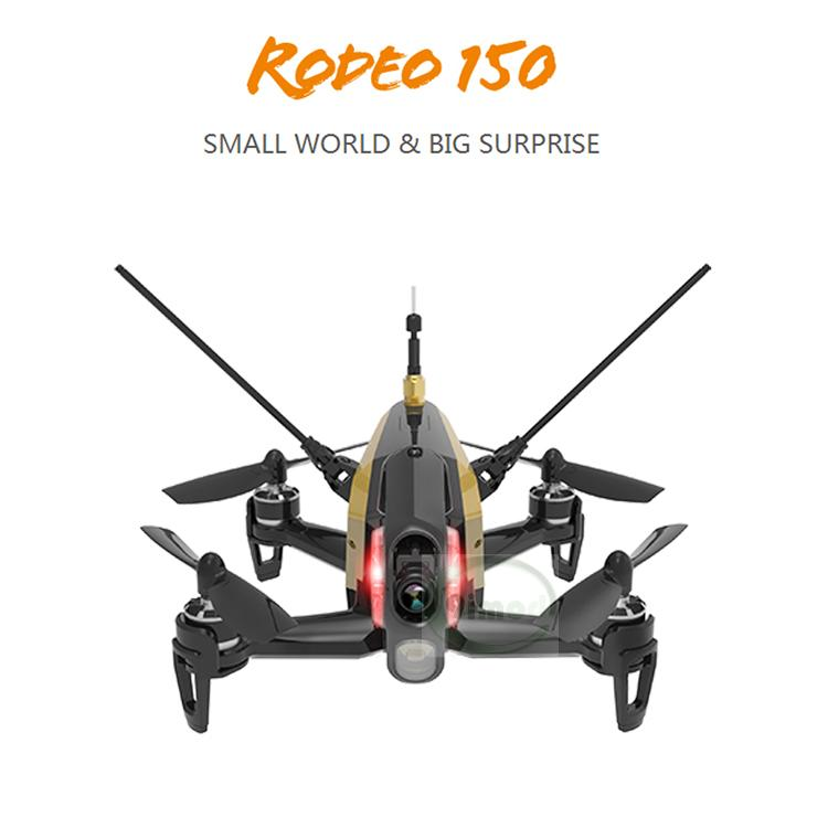 Original Walkera Rodeo 150 with DEVO 7 Remote Control Racing Drone with 600TVL Camera RTF BNF F18129/30 walkera rodeo 150 bnf without transmitter rc racing drone with 600tvl night vision camera 150 size