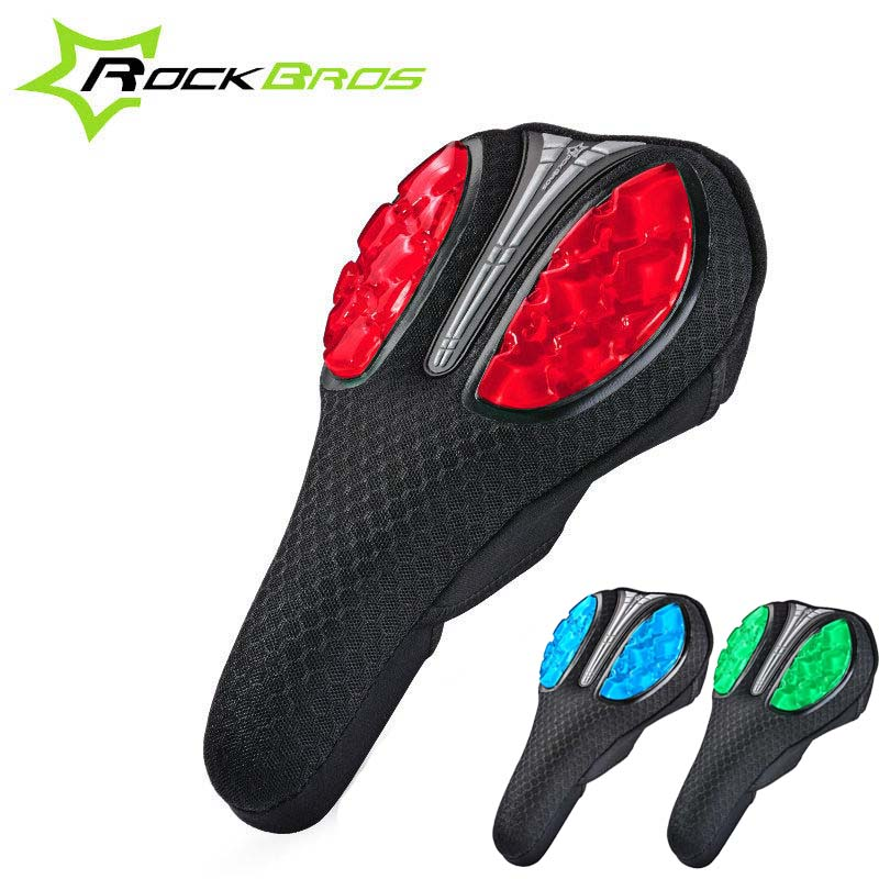 RockBros Bicycle Road Cycling MTB Soft Sponge Pad Seat Saddle Cushion Cover
